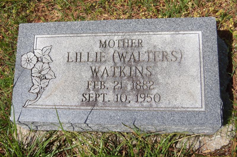 Lillie May <i>Cooper</i> Walters Watkins