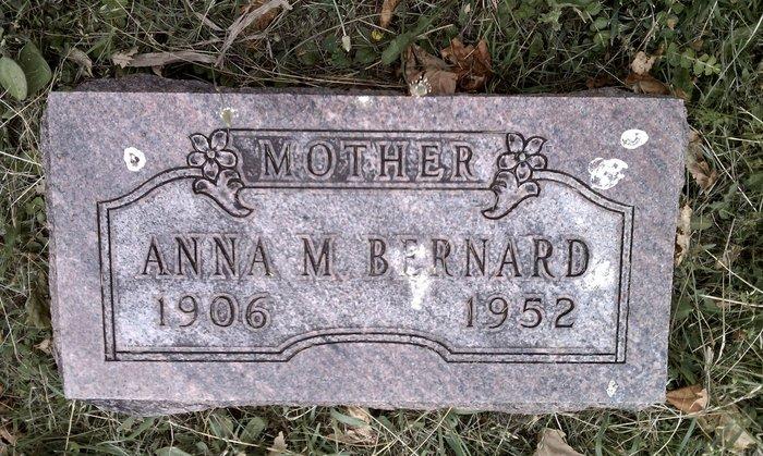 Anna Wilma <i>Mercer</i> Bernard