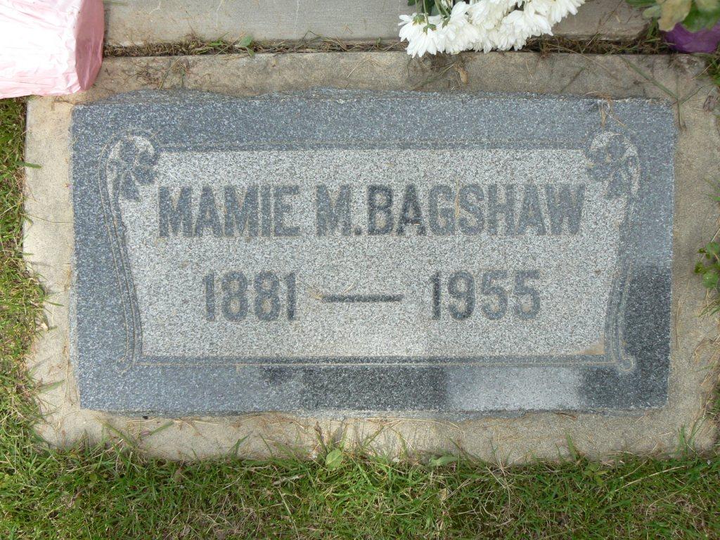 Mamie Selena <i>Moyes</i> Bagshaw