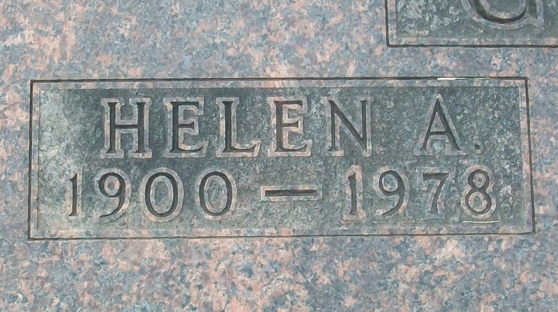 Helen Irene <i>Allee</i> Gause