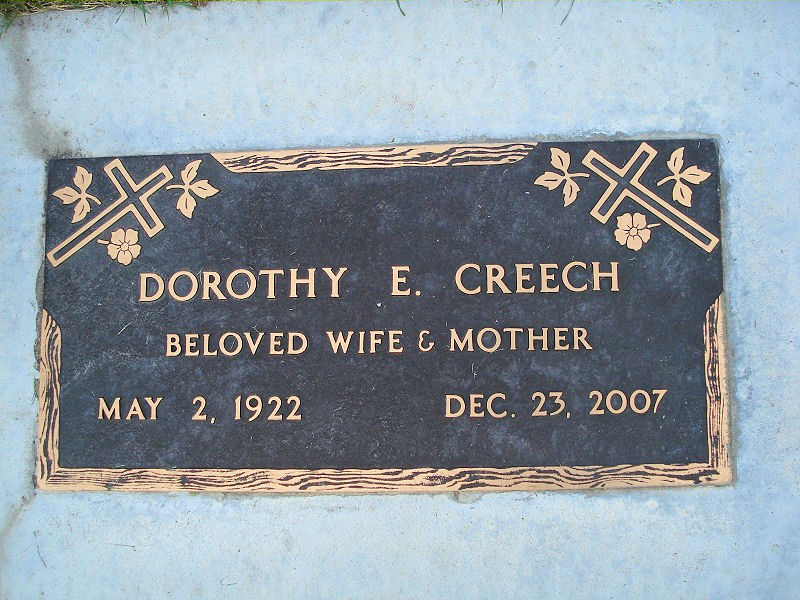 Dorothy Ellen <i>Curtis</i> Creech