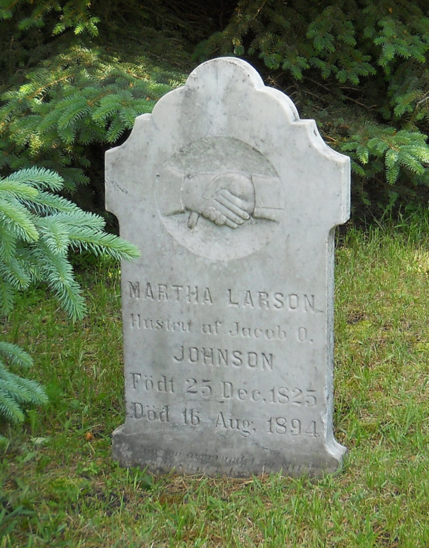 Martha <i>Larson</i> Johnson