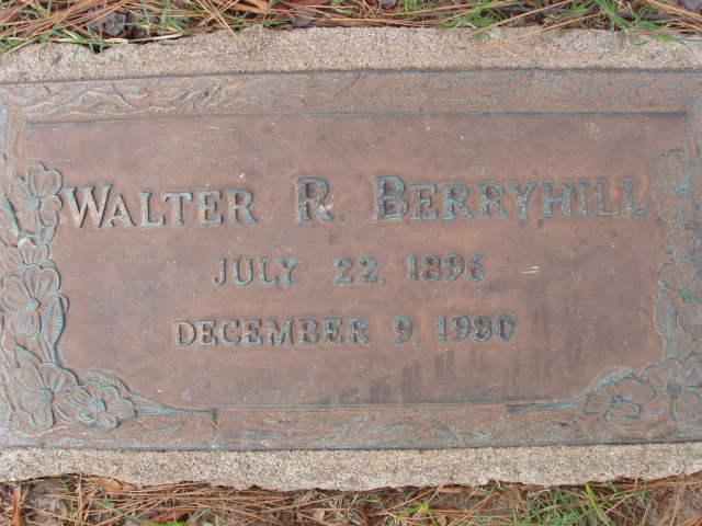Walter Ray Berryhill