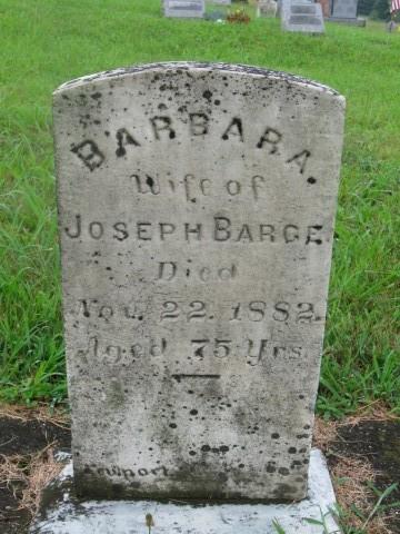 Barbara <i>Foltz</i> Barge