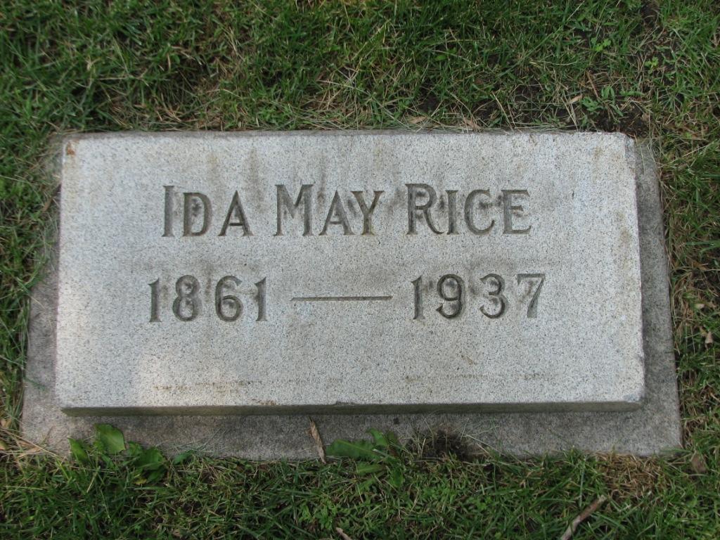 Ida May <i>Maclaskey</i> Rice