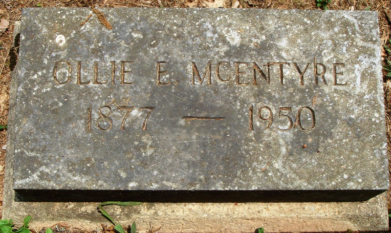Ollie E. McEntyre