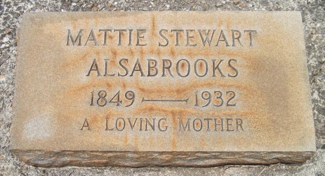 Martha Ann Elizabeth <i>Bishop</i> Alsabrooks