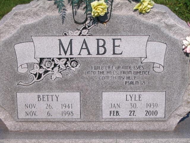 Lyle W. George Aggernite Mabe