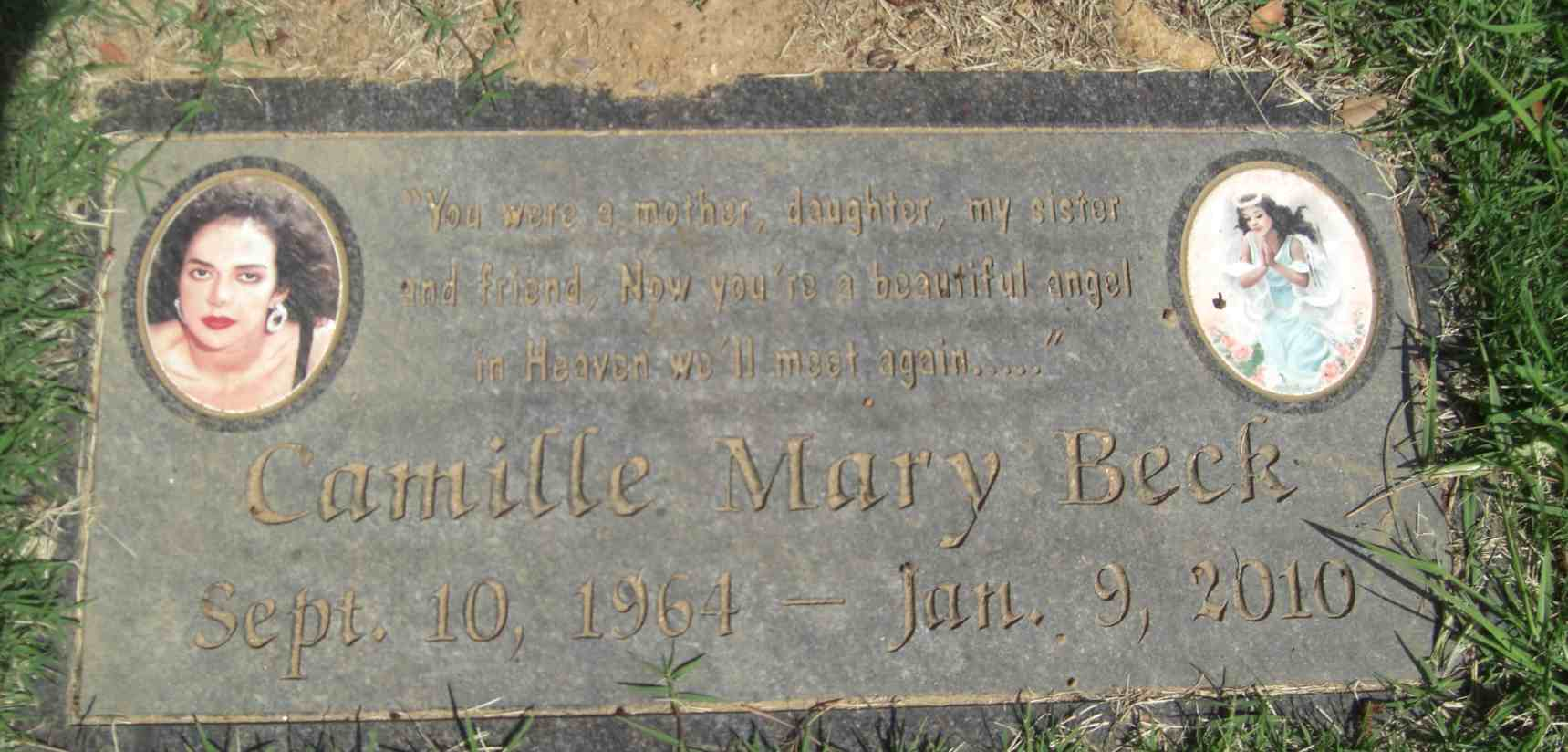 Camille Mary Beck 1964 2010 Find A Grave Memorial