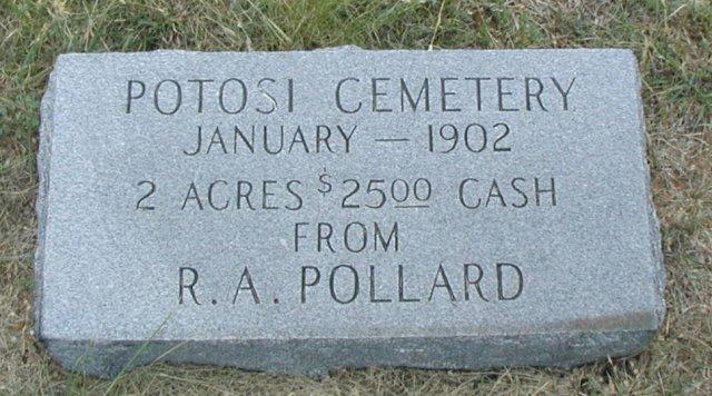 Potosi Cemetery