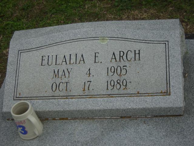 Eulalia Ernestine <i>Church</i> Arch