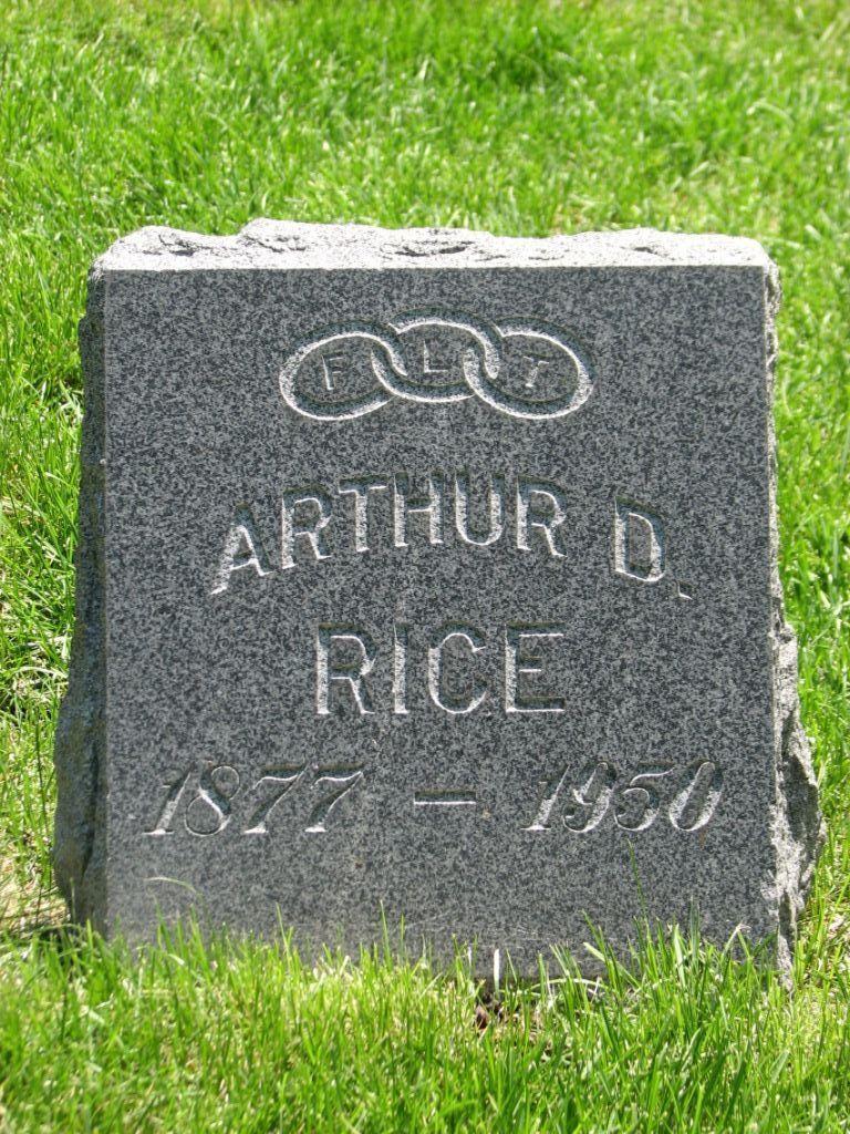 Arthur D Rice