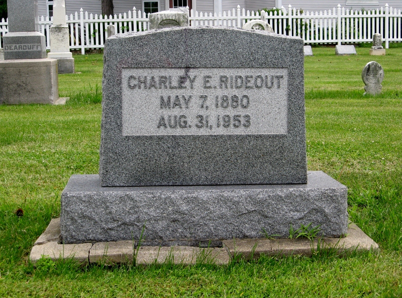 Charles Ervin Rideout