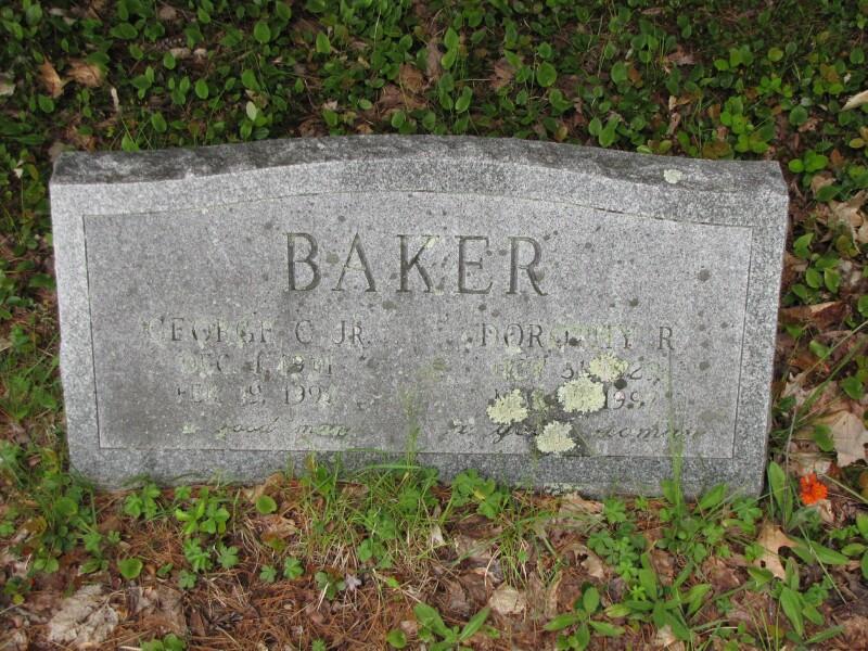 Dorothy R <i>Ryan</i> Baker