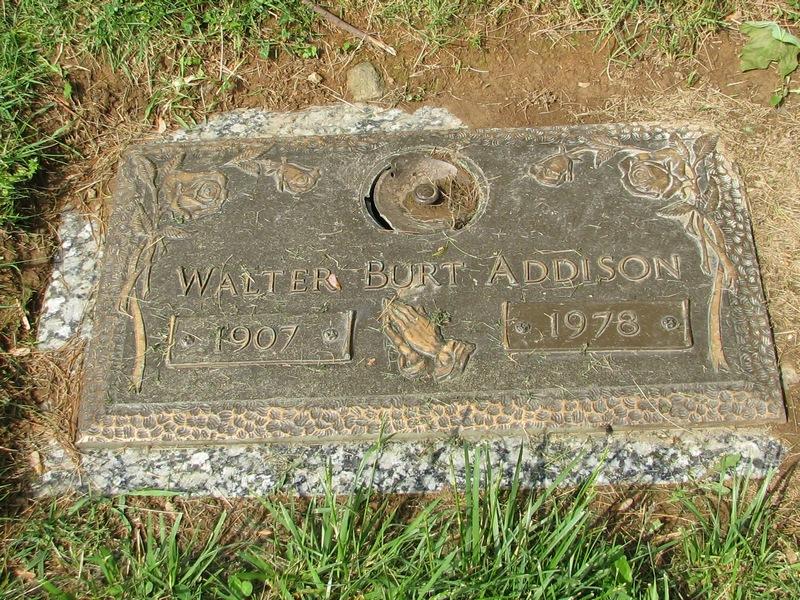 Walter Burt Addison