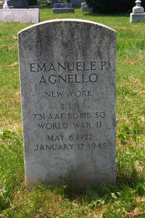 2LT Emanuele P Agnello