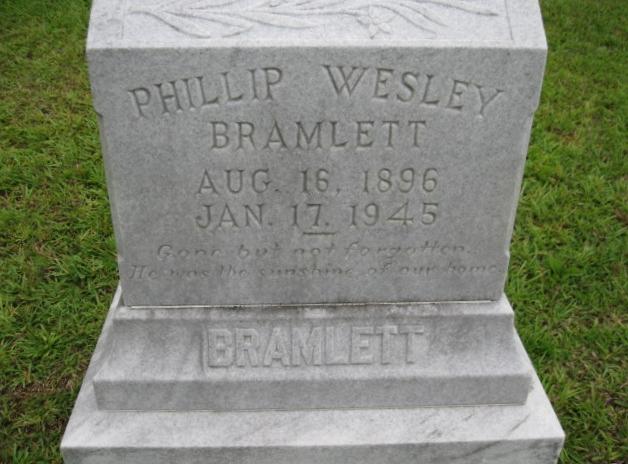 Phillip Wesley Bramlett