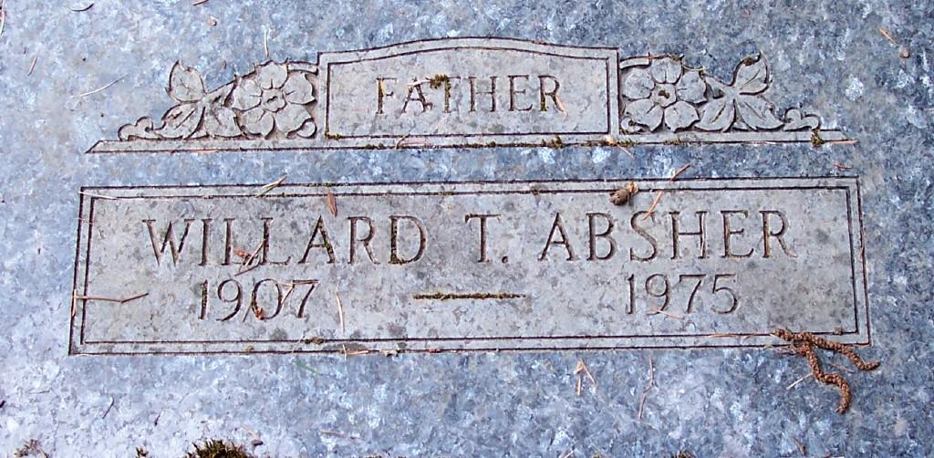 Willard T Absher
