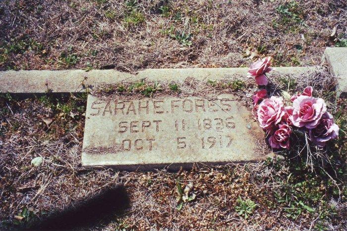 Sarah <i>Edwards</i> Forester