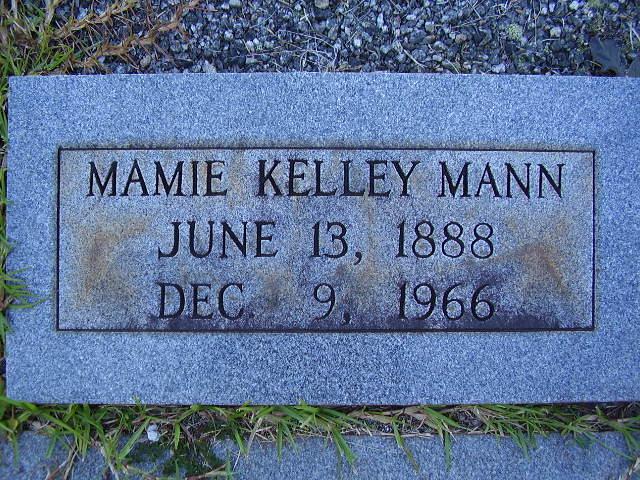 Mamie <i>Kelley</i> Mann