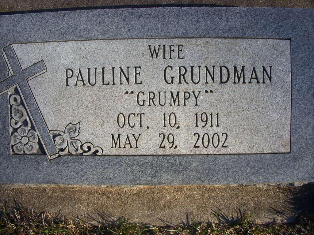 Pauline Grumpy Grundman