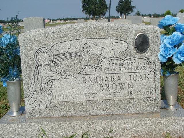 BARBARA JOAN <i>ROSSON</i> BROWN