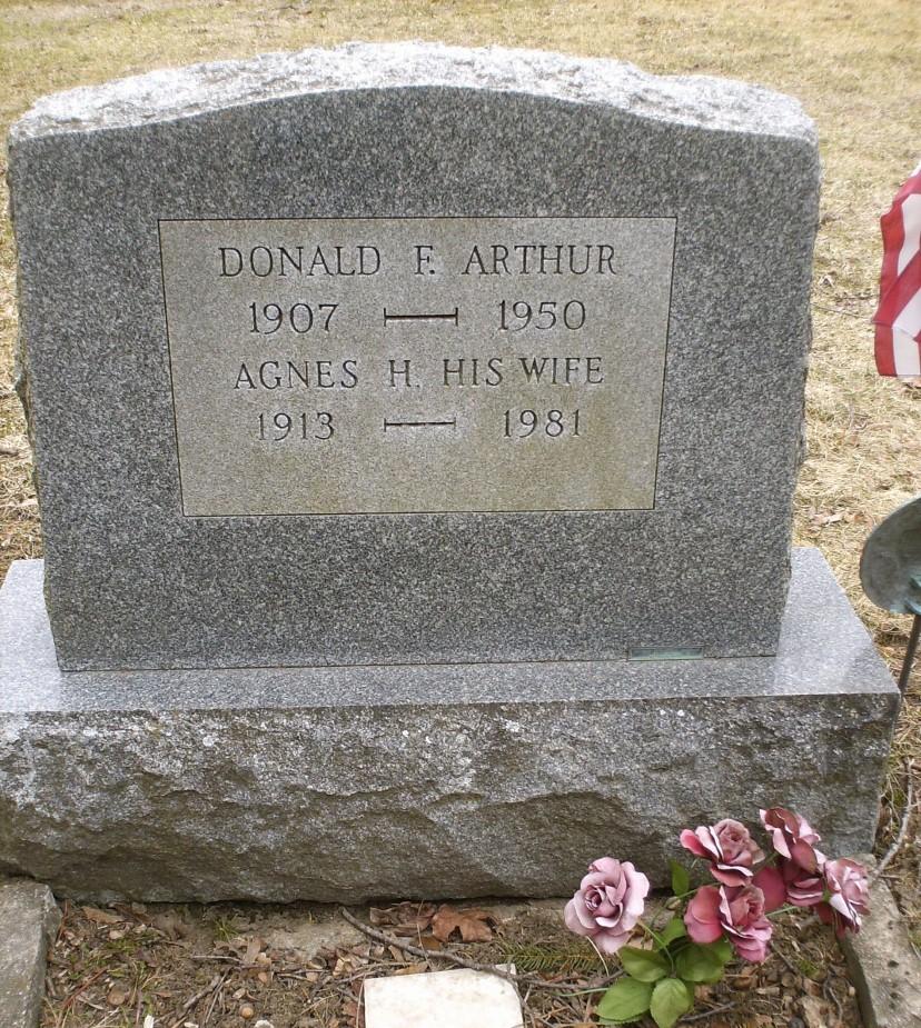 Agnes H <i>Campbell</i> Arthur