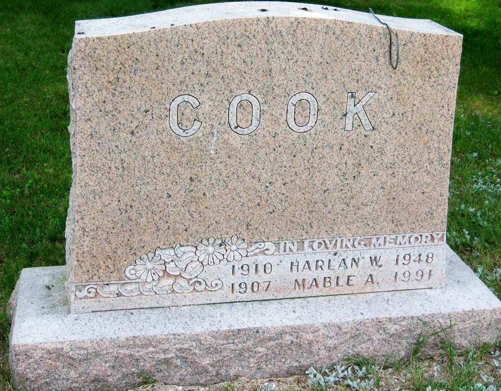 Harlan Wayne Cook, I