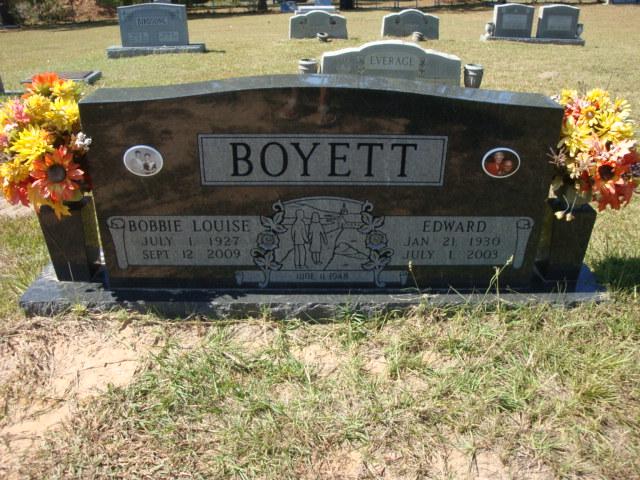 Bobbie Louise <i>Grimes</i> Boyett
