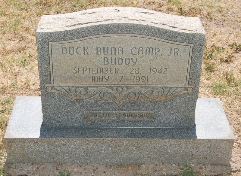 Dock Buna Buddy Camp, Jr