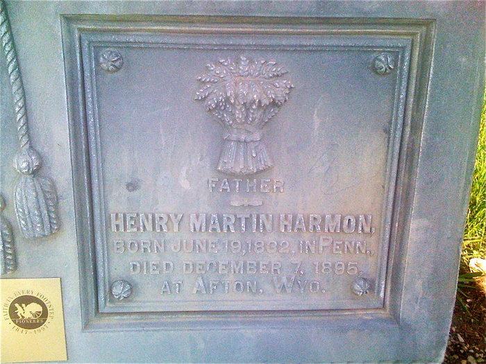 Henry Martin Harmon, Sr