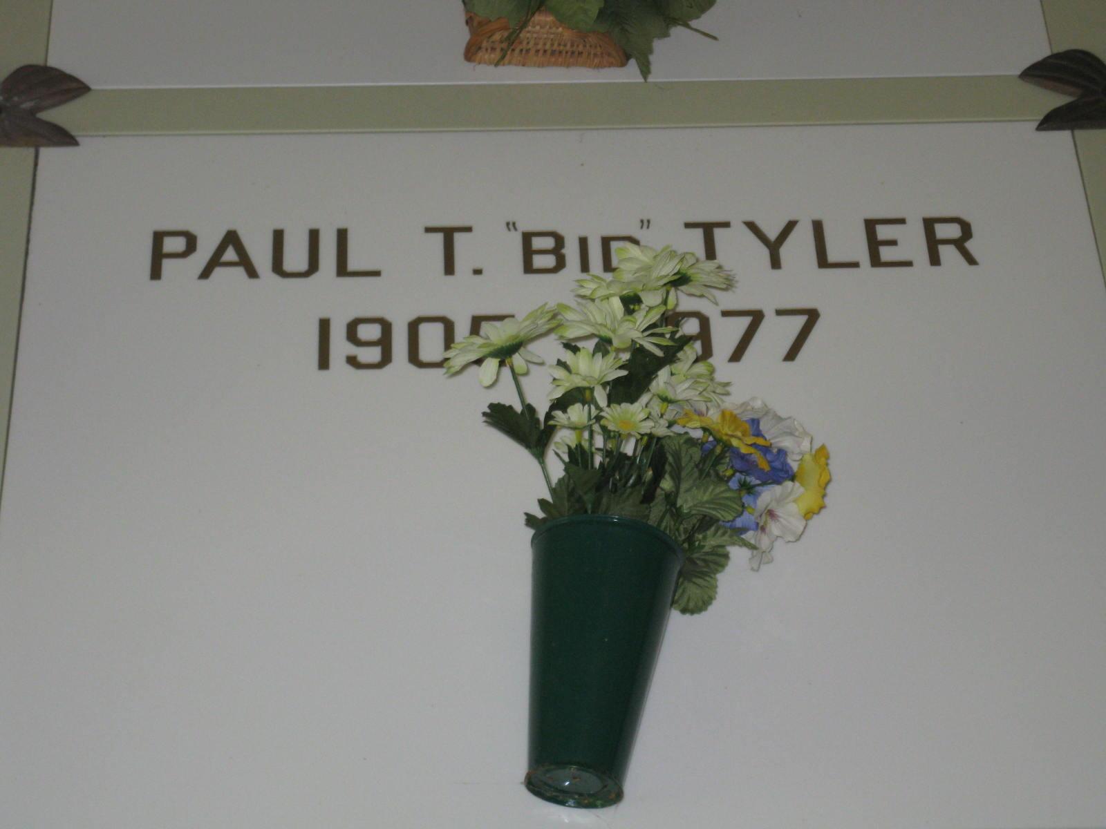 Paul T. Bid Tyler