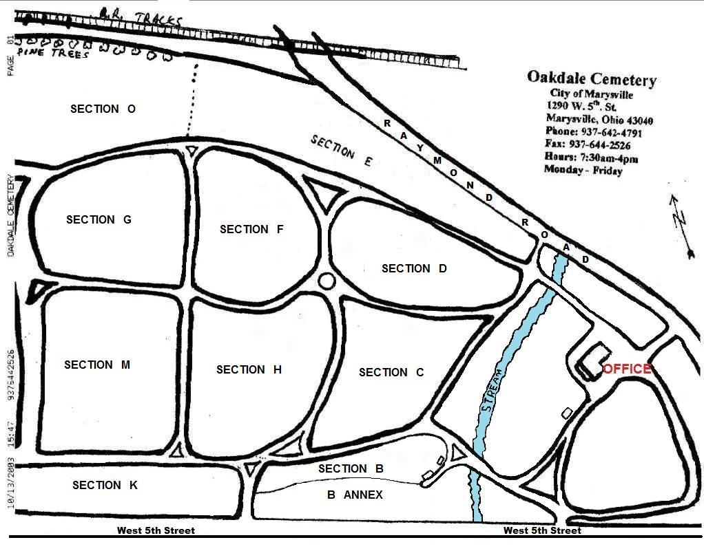 Oakdale Cemetery in Marysville, Ohio - Find A Grave Cemetery