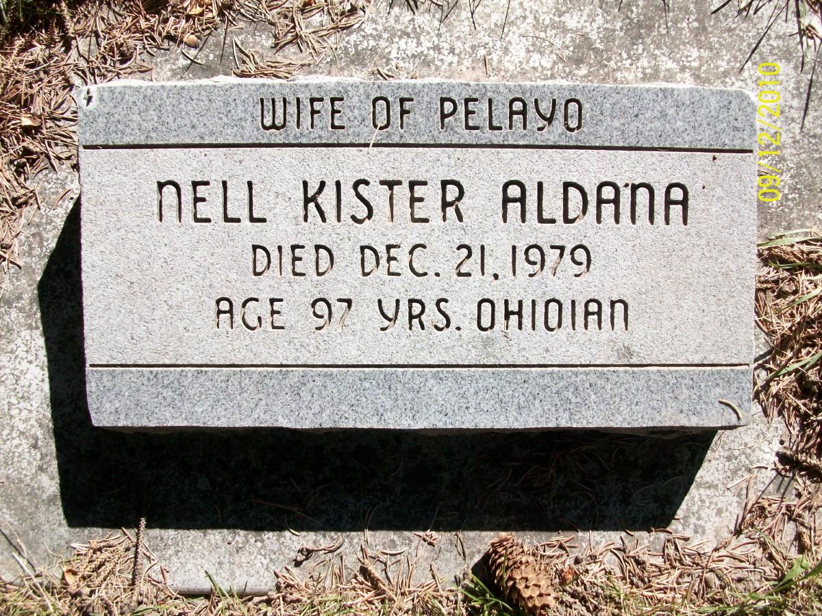 Nell Wayne <i>Kister</i> Aldana