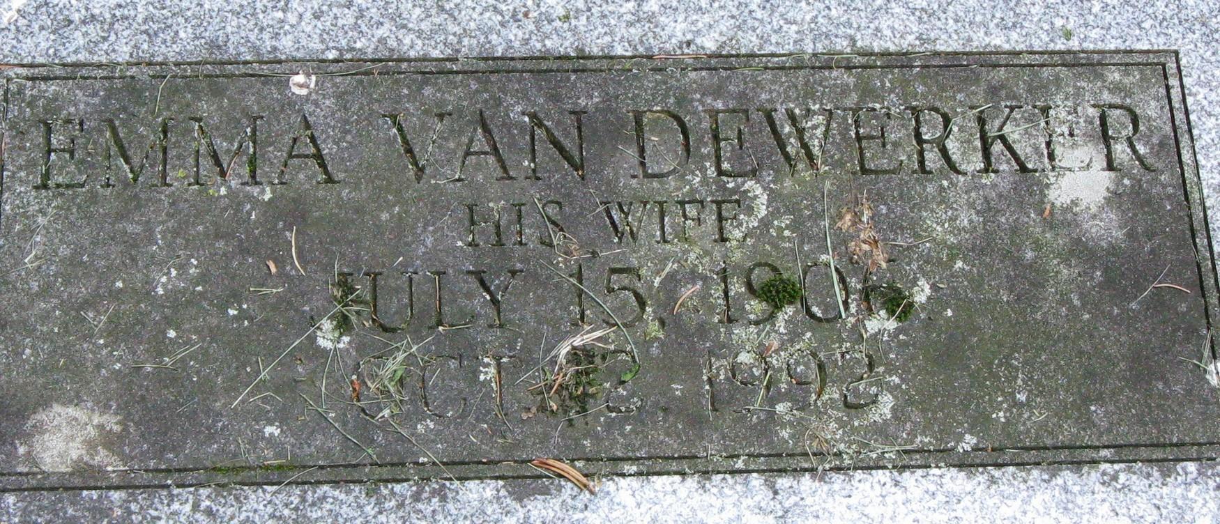 Emma <i>Van Dewerker</i> Fonda