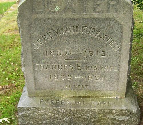 Jeremiah F Dexter