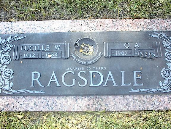 Billie Lucille Weldon <i>Seagroves</i> Ragsdale