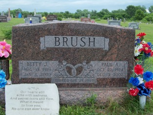 Betty Jean <i>Polley</i> Brush