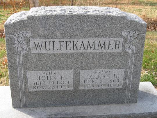 Louise Helen <i>Mueller</i> Wulfekammer