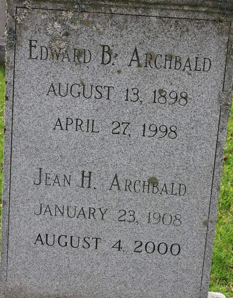 Jean Helen <i>Harris</i> Archbald