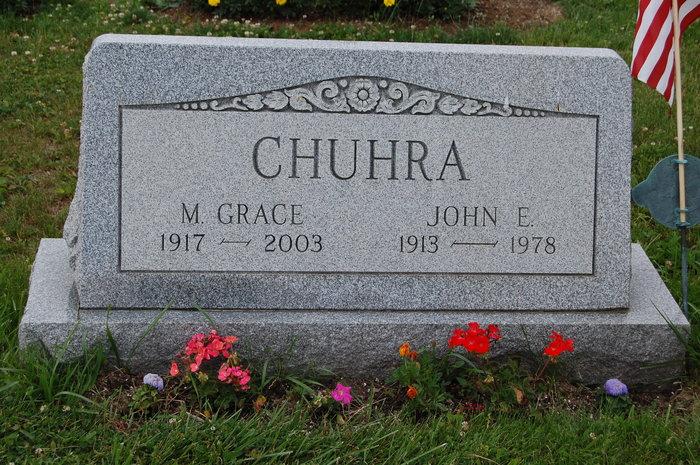 Margaret Grace <i>McClaine</i> Chuhra
