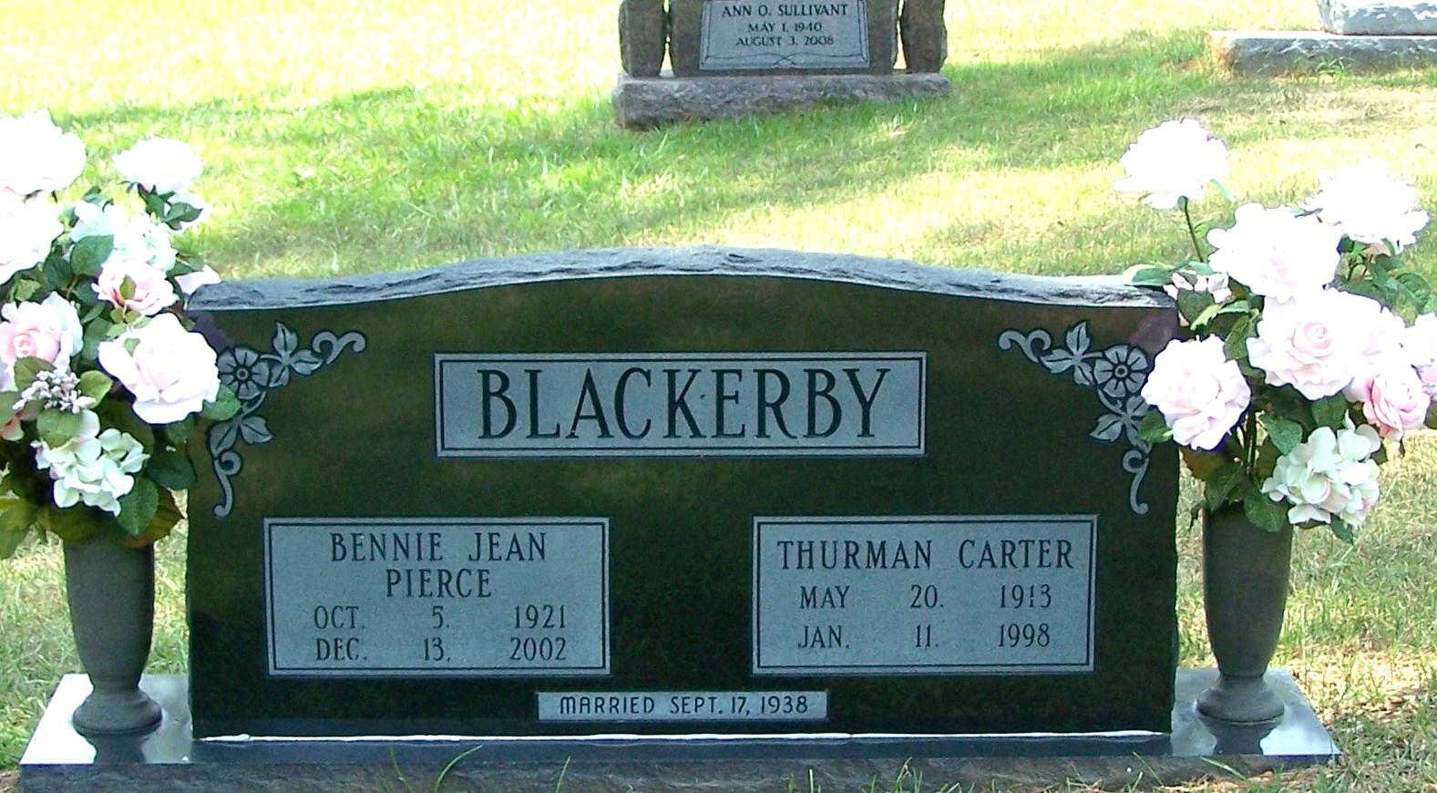 Thurman Carter Blackerby