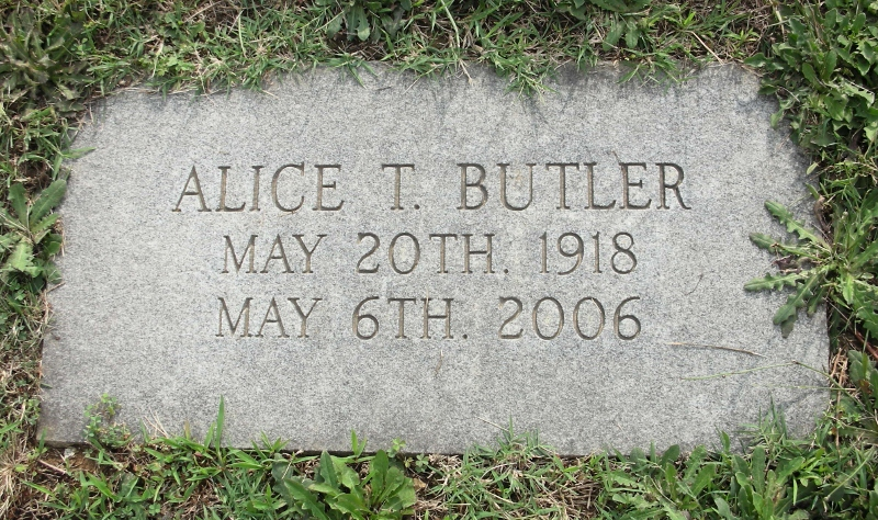 Alice Mae <i>Jones</i> Butler