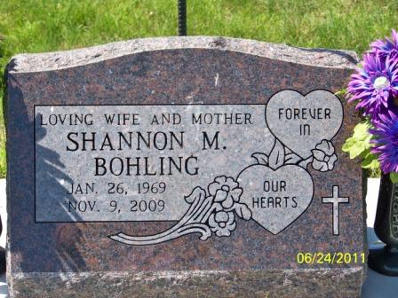 Shannon Marie <i>Alexander</i> Bohling