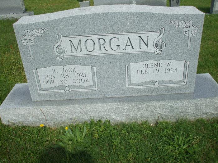 Olene Frances <i>Woodruff</i> Morgan