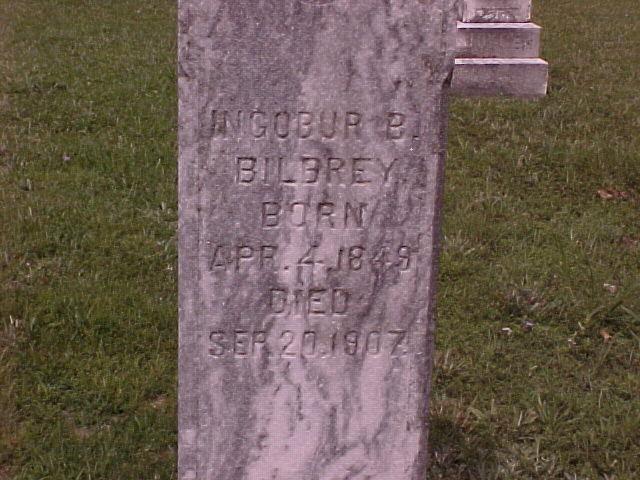 Ingobur B. <i>Gibbons</i> Bilbrey