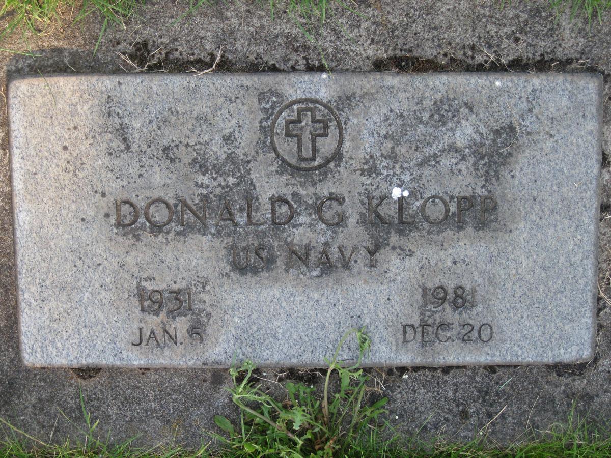 Donald Grant Klopp
