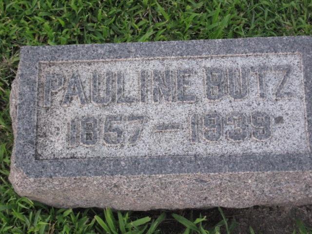Pauline Marie <i>Liebau</i> Butz