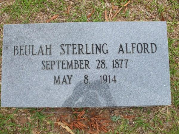 Beulah <i>Sterling</i> Alford