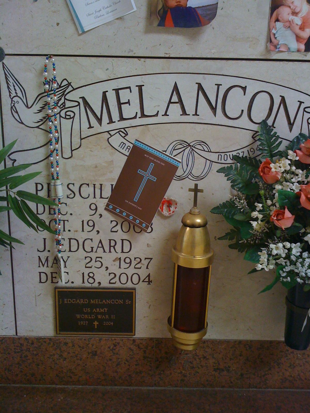 Pricilla Louque Melancon Find A Grave Memorial